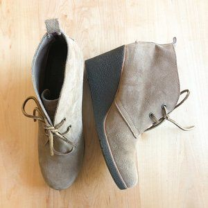 Sperry Topsider Harlow Wedge Bootie Size 10